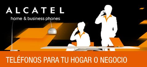 Teléfonos Alcatel para tu hogar o negocio