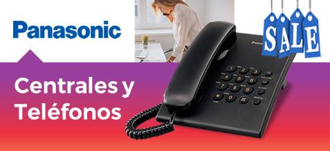 Centrales y teléfonos Panasonic