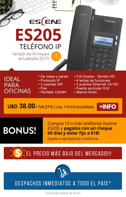 Tel fono sip es205 for Mercadona telefono oficinas centrales